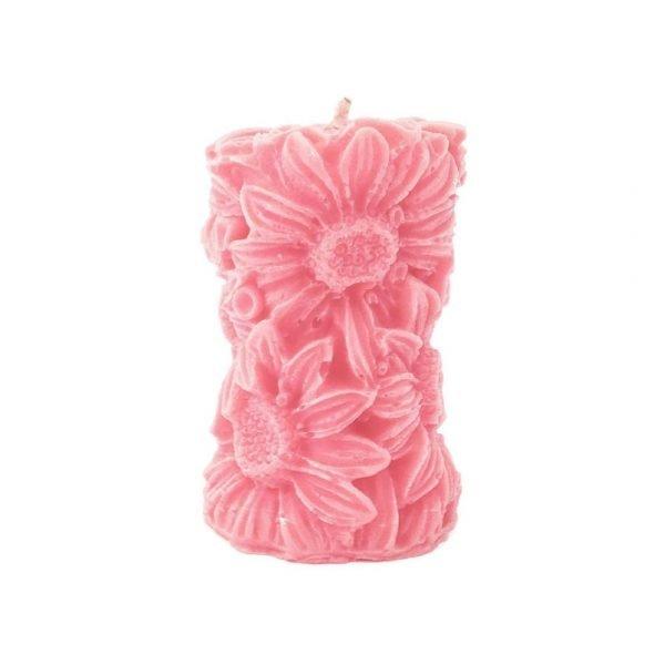 Floral Pillar Candles