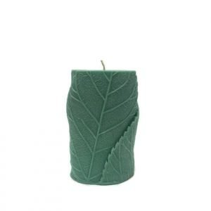 Leaf Pillar Candle